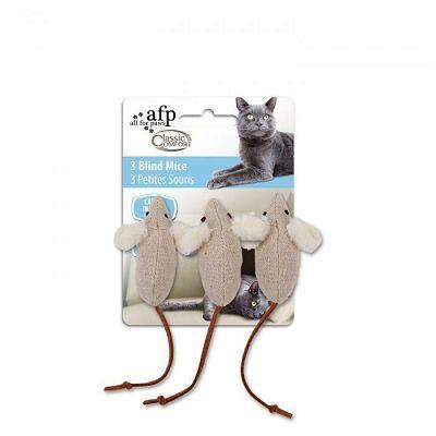 All for Paws 3 Blind Mouse igračka za mačku