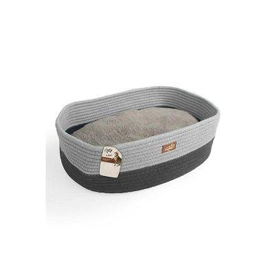 All for Paws ležaljka za mačke siva 42x30x14cm