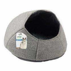 All for Paws ležaljka za mačke siva 46x46x37cm