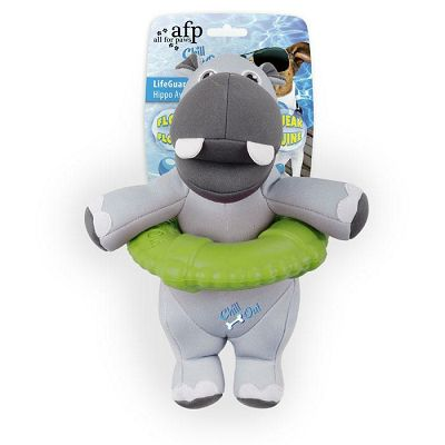All for Paws LifeGuard Hippo igračka za psa