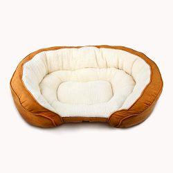 All for Paws Luxury Sofa ležaljka za pse M 78x60x21cm braon