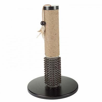 All for Paws Mochachino Scratching Post with Rubber Bristles grebalica za mačke