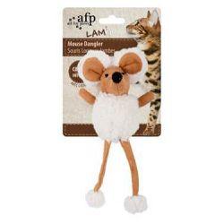 All for Paws platnena miš igračka za mačke bež