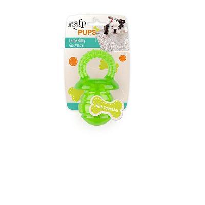 All for Paws Puppyfier S zelena igračka za psa