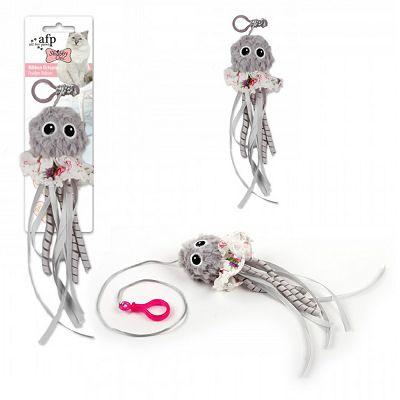 All for Paws Ribbon octopus igračka za mačku