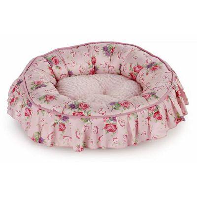 All for Paws / ležaljka za mačku Round Pink 13x42x42cm