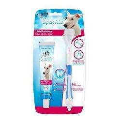 All for Paws Sparkle četkica i zubna pasta za pse