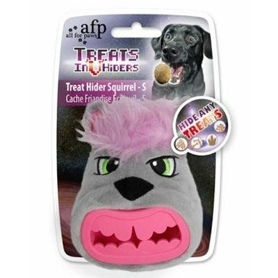 All for Paws Treat Hider Squirrel igračka za psa