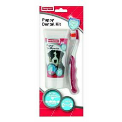 Beaphar puppy dental kit 50g