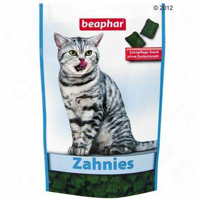 Beaphar Zahnies - grickalice za zubnu higijenu mačaka 150g