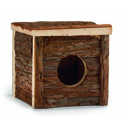 Beeztees Drvena kućica za glodare 15x15x14cm
