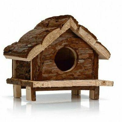 Beeztees Drvena kućica za glodare 15x15x16,5cm