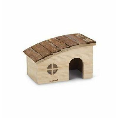 Beeztees Drvena kućica za glodare 20x13x12cm