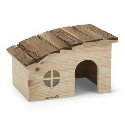 Beeztees Drvena kućica za glodare 25x18x15cm