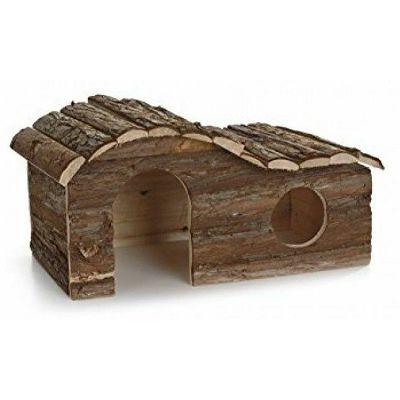 Beeztees Drvena kućica za glodare 43x28x22cm