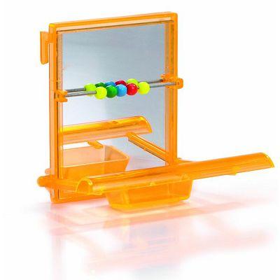 Beeztees / Plastično ogledalce sa stajalicom