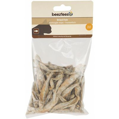 Beeztees poslastica za mačke - sušene ribice 100g