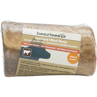 Beeztees Smoked Filled Bone / dimljena kost punjena mesom poslastica za pse