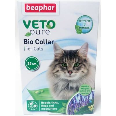 Beaphar Veto Pure bio Collar, antiparazitska ogrlica za mačke