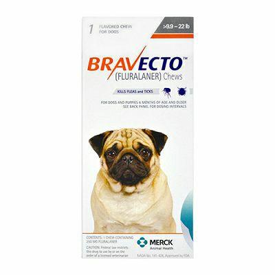 Bravecto // 4,5-10kg - 1 komad