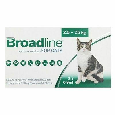 Broadline // 2,5-7,5kg - 1 ampula
