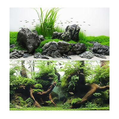 Croci Double Amazonia pozadina za akvarij 30x60cm