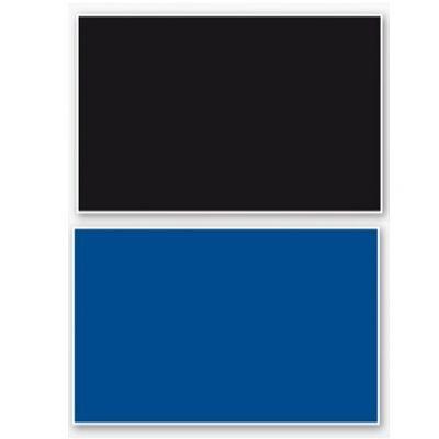 Croci Double Blister plavo/crno 60x150cm