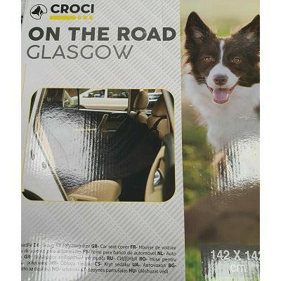 Croci Glasgow zaštitna navlaka za sjedište auta 142X142 cm