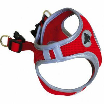 Croci Hiking prsnik za psa crveni S 34-41cm