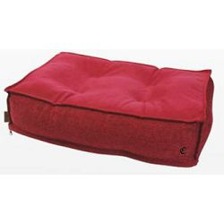 Croci ležaljka za pse i mačke crvena 80x60x15cm