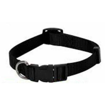 Croci ogrlica crna prilagodljiva 16mm