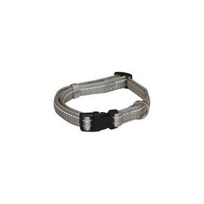 Croci Reflective ogrlica 20mm 35-55cm siva