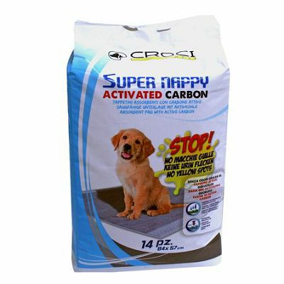 Croci / Super Nappy ACTIVATED CARBON pelene 84x57cm / 14kom