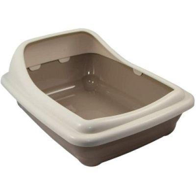Croci toalet 56x39x21,5cm sivi