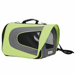 Croci transportna torba za male pse i mačke 46x26x27cm zelena