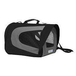 Croci transportna torba za male pse i mačke 46x26x27cm crna