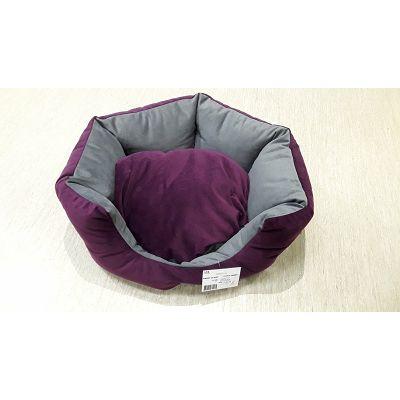 DMC krevet za psa - Benny sivo-ljubičasti