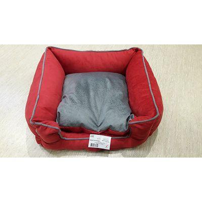 DMC krevet za psa - Bonny crveno-sivi
