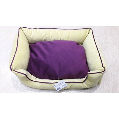 DMC krevet za psa - Bonny žuto-ljubičasti