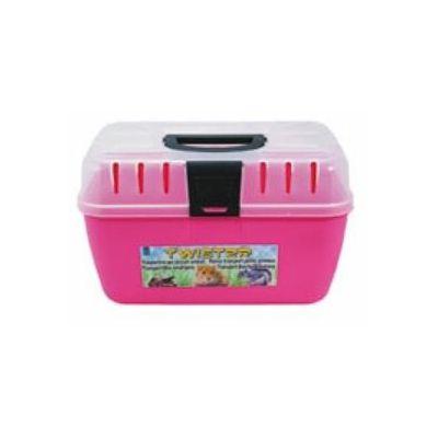 Domu Molinari transporter za glodare pink