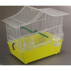 Domus Molinari kavez za ptice 43x24x36cm žuti