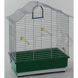 Domus Molinari kavez za ptice 46x28x49cm zeleni