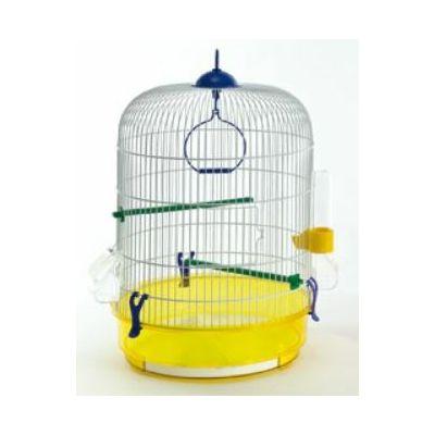 Domus Molinari kavez za ptice okrugli žuti