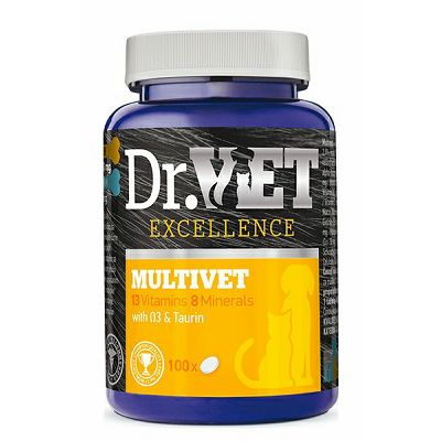 Dr. Vet MULTIVET 100 tableta