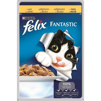 Felix Fantastic hrana za mačke sa piletinom u želeu 100g