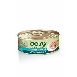 OASY Specialitá Naturali / tuna i kozice hrana za mačke 70g