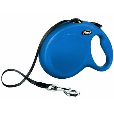 Flexi povodac za pse Classic L 5m type - plavi
