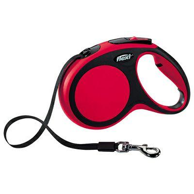 Flexi povodac za pse New Comfort L 5m type - crveni