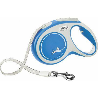 Flexi povodac za psa New Comfort M 500cm type - plavi