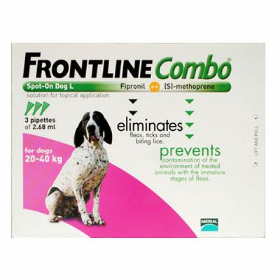 Frontline Combo L // 20-40kg - 1 ampula